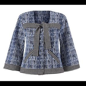 Cabi Crop blazer style jacket size L
